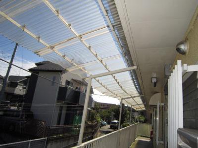 テラス屋根設置BEFORE2